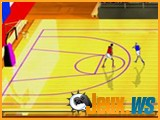 jeu de basketball flash