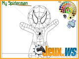 jeu coloriage mini spiderman
