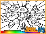 jeu mario bros coloriage flash