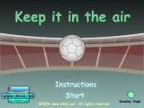 Jeu De keep in air