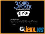 jeu 3 card poker