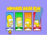 jeu homers beer run 2