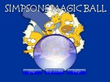 jeu simpson magic ball