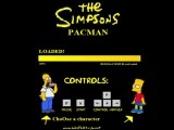 jeu the simpsons pacman