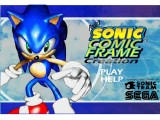 Jeu De sonic comic frame creation